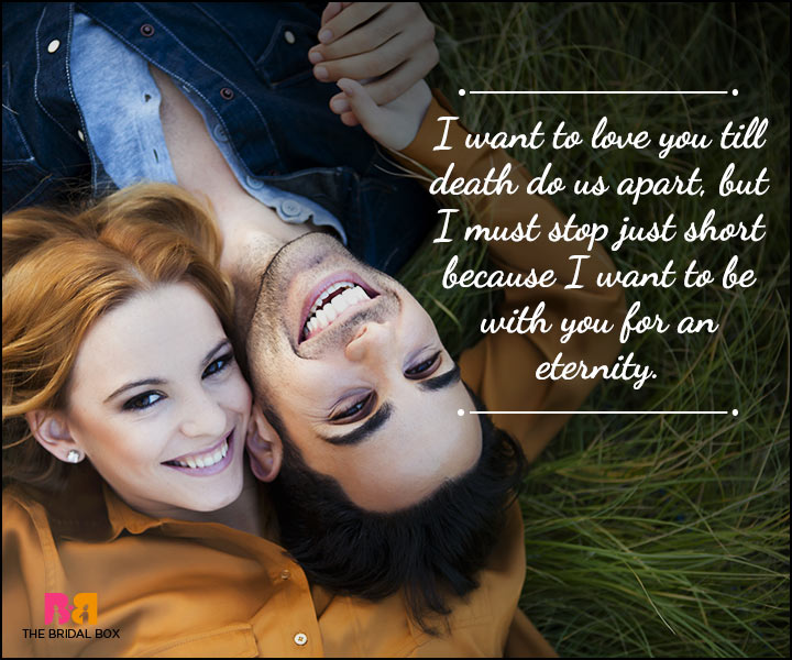 Husband And Wife Love Quotes - For Eternity
