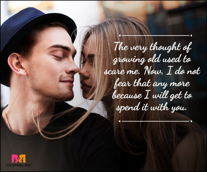 Husband And Wife Love Quotes - With You