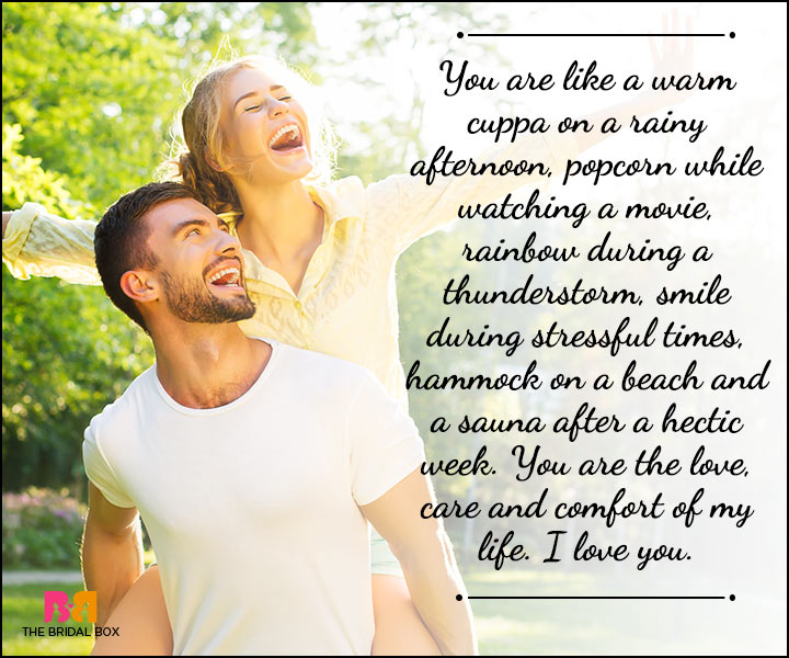 Husband And Wife Love Quotes - Rainbows, Coffee And The Beach