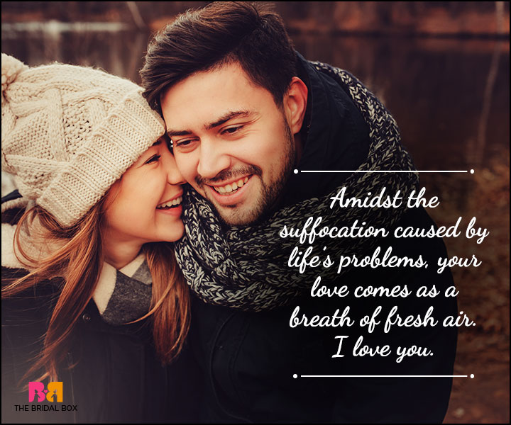 Husband And Wife Love Quotes - A Breath Of Fresh Air