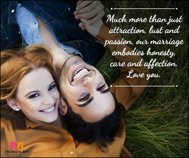 Husband And Wife Love Quotes - Honesty, Care And Affection