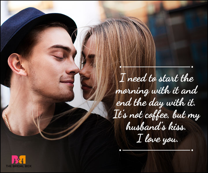 Husband And Wife Love Quotes - Coffee