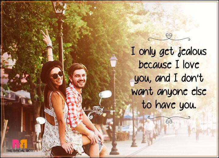 I Love You Status - Jealous