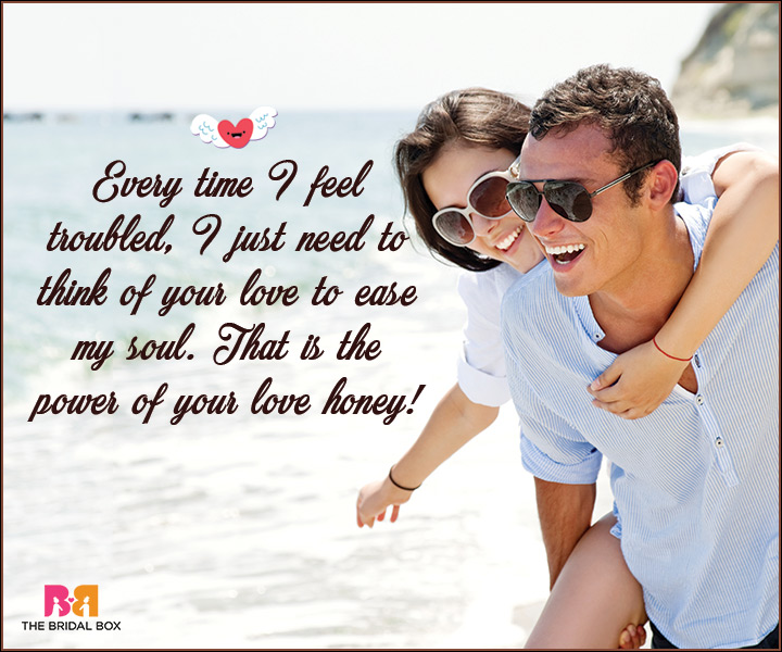 I Love You Messages For Wife - I Just Think Of Your Love