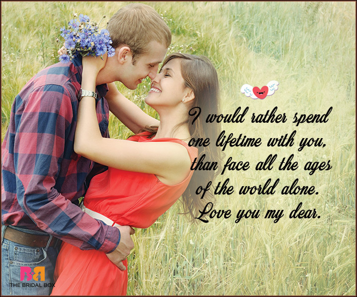 I Love You Messages For Wife - One Lifetime