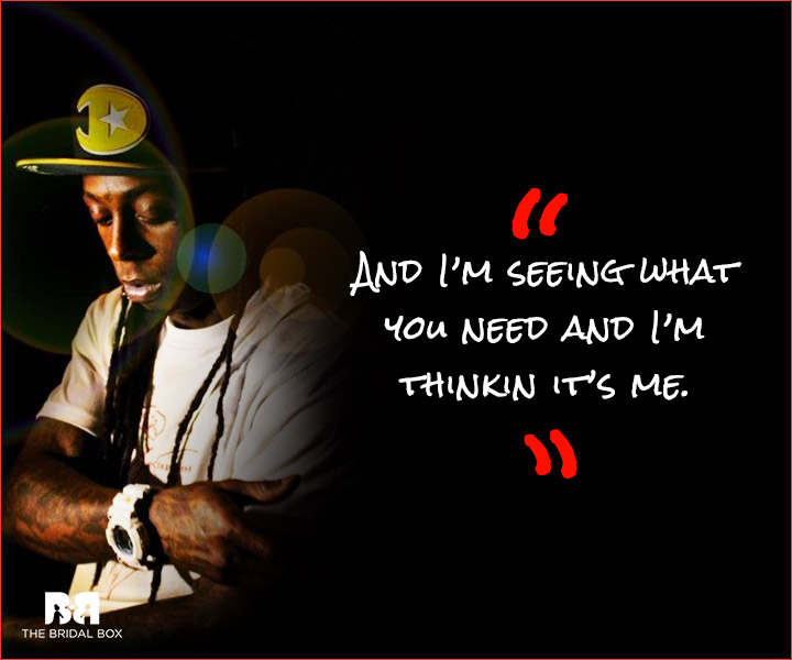 Lil Wayne Love Quotes - I'm Thinking