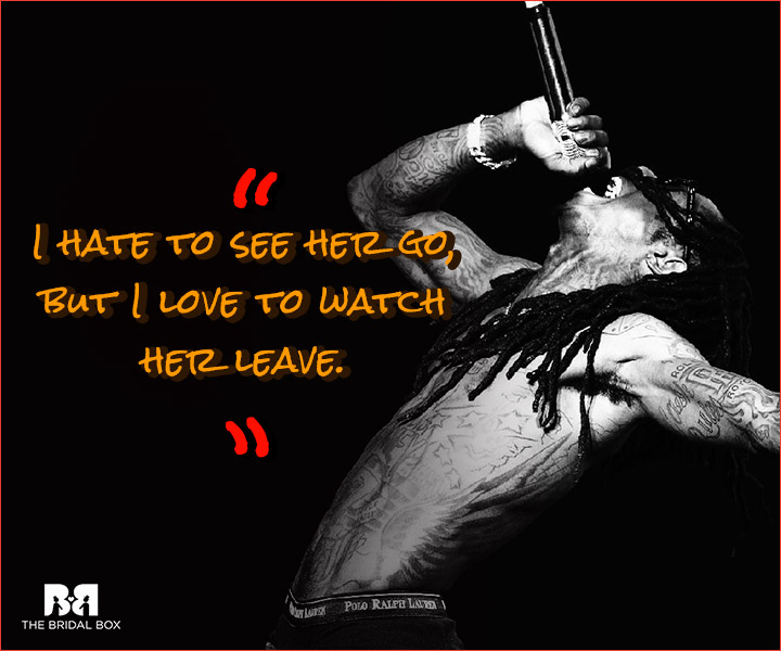 Lil Wayne Love Quotes - Watch Her
