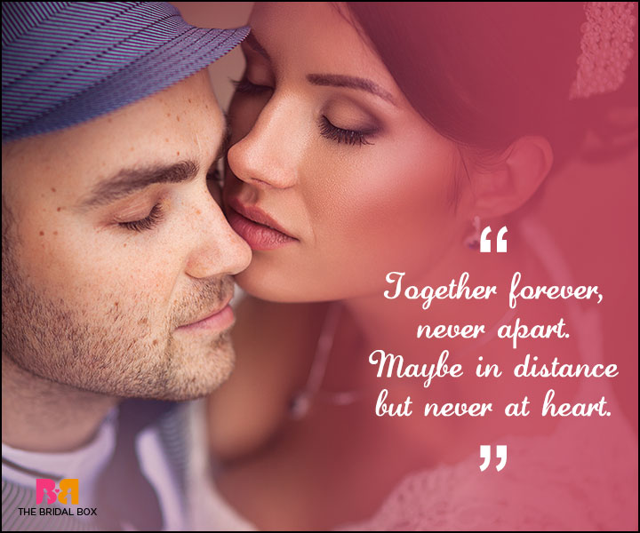 Love Forever Quotes - Never Apart