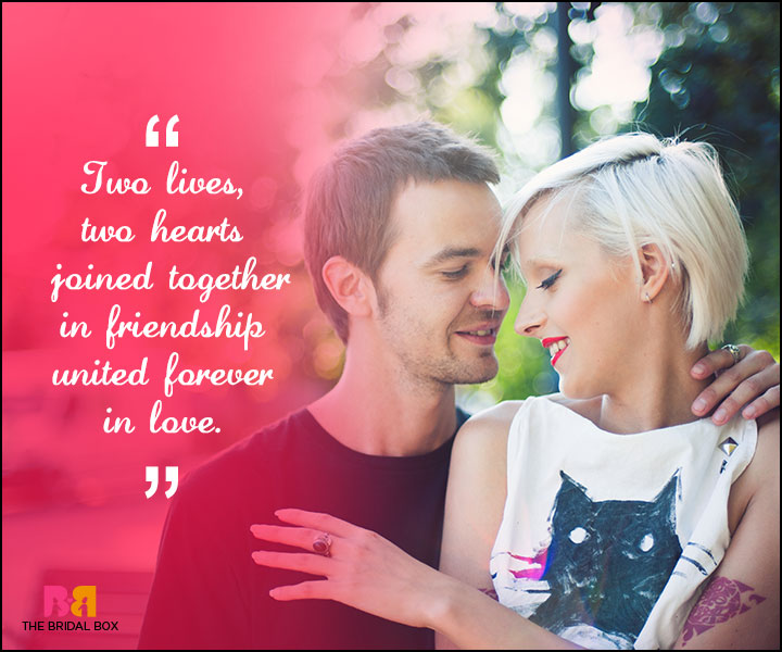 Love Forever Quotes - Two Hearts