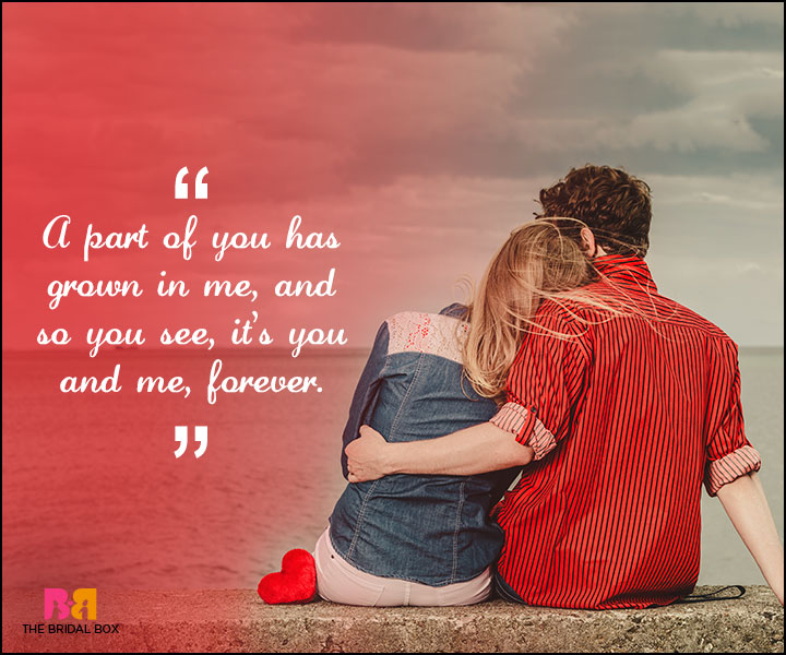 Love Forever Quotes - A Part Of You