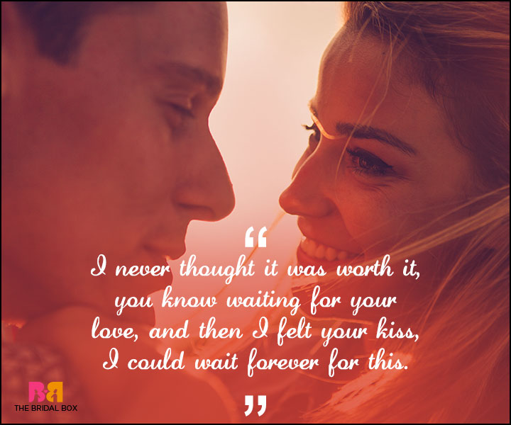 Love Forever Quotes - I Never Thought