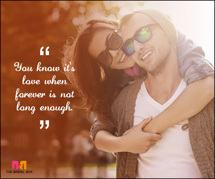 Love Forever Quotes - Not Long