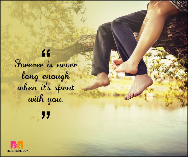 Love Forever Quotes - With You