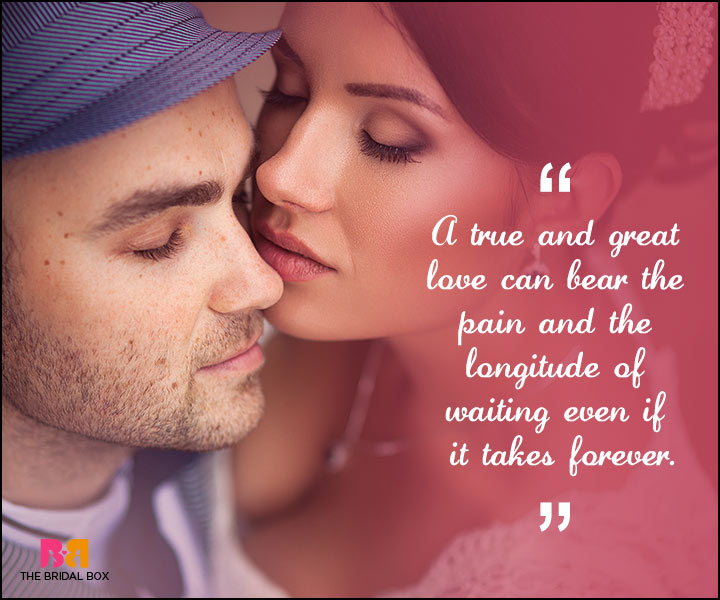 Love Forever Quotes - A Great Love