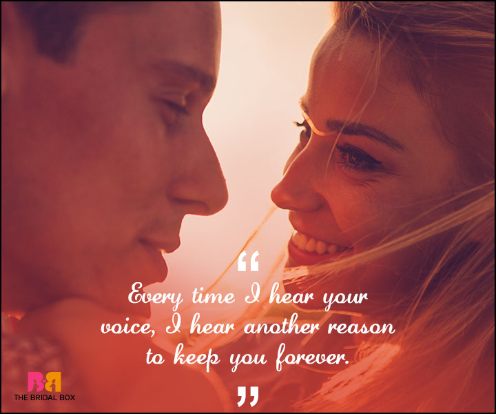 Love Forever Quotes - Your Voice