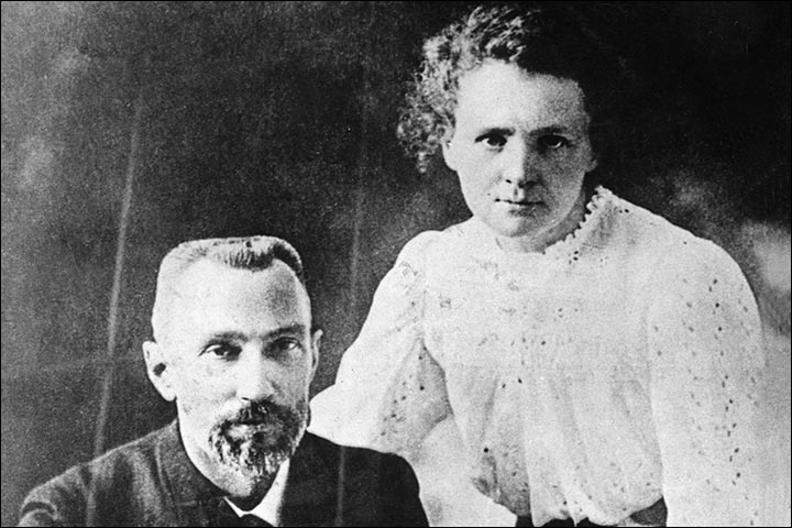 Famous Love Stories - Pierre And Marie Curie