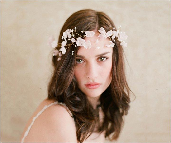 Wedding Tiara - Pristine Flowers