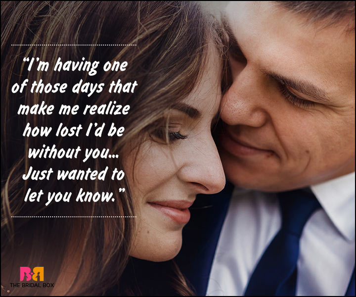 Romantic Love Messages For Husband - One Of Those Days