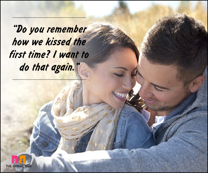 Romantic Love Messages For Husband - Do You Remember?