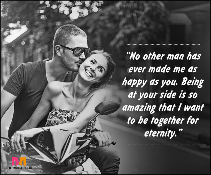 Romantic Love Messages For Husband - At Your Side