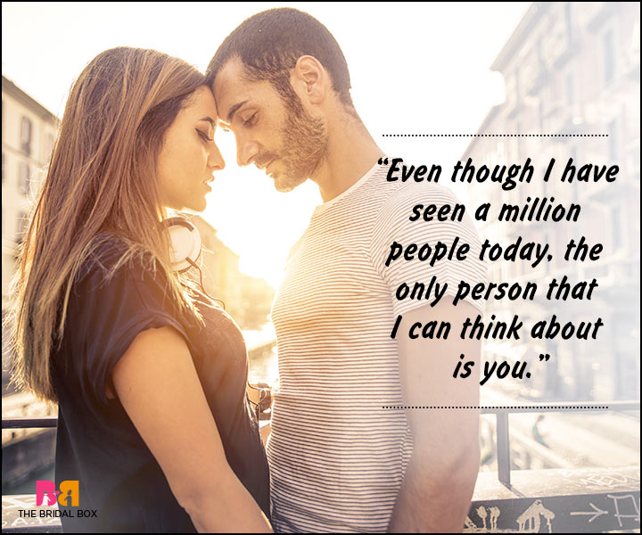 Romantic Love Messages For Husband - The Only Person Is You