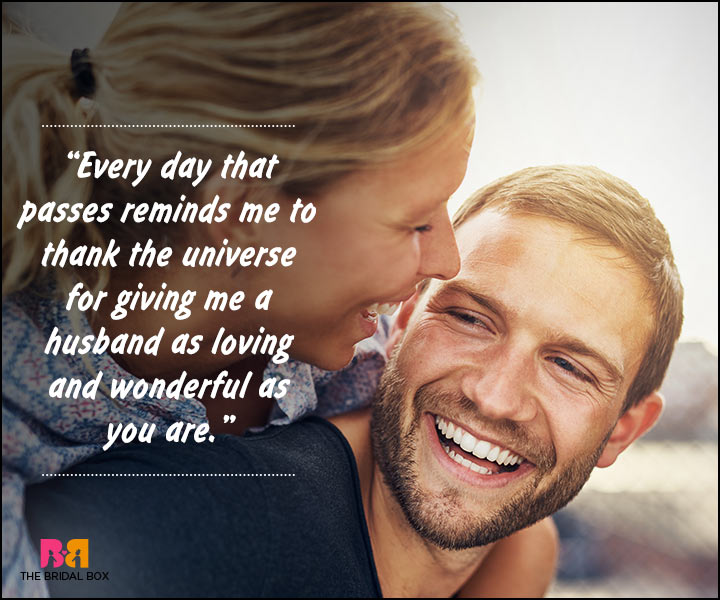 Romantic Love Messages For Husband - Every Day That Passes
