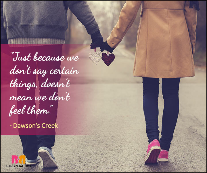 Secret Love Quotes - Dawson's Creek