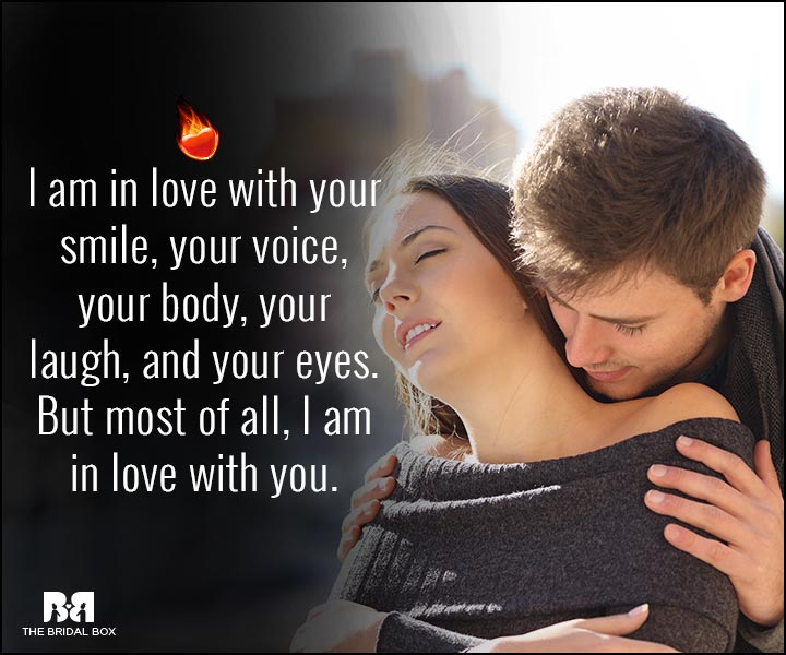 Sexy Love Quotes - In Love With You