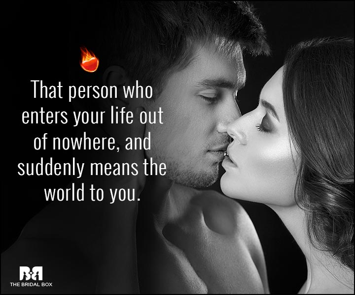 Sexy Love Quotes - That Person