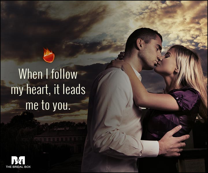 Sexy Love Quotes - Leads Me To You