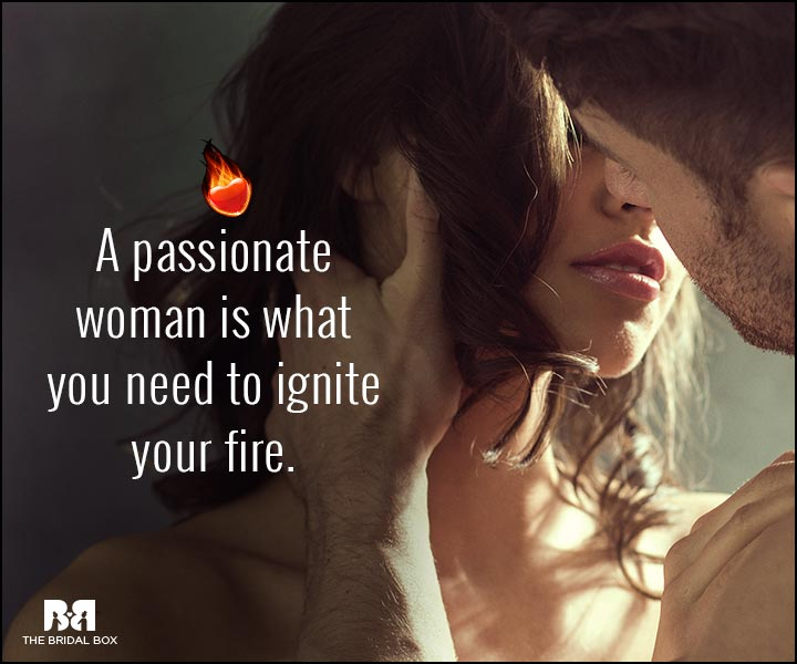 Sexy Love Quotes - A Passionate Woman