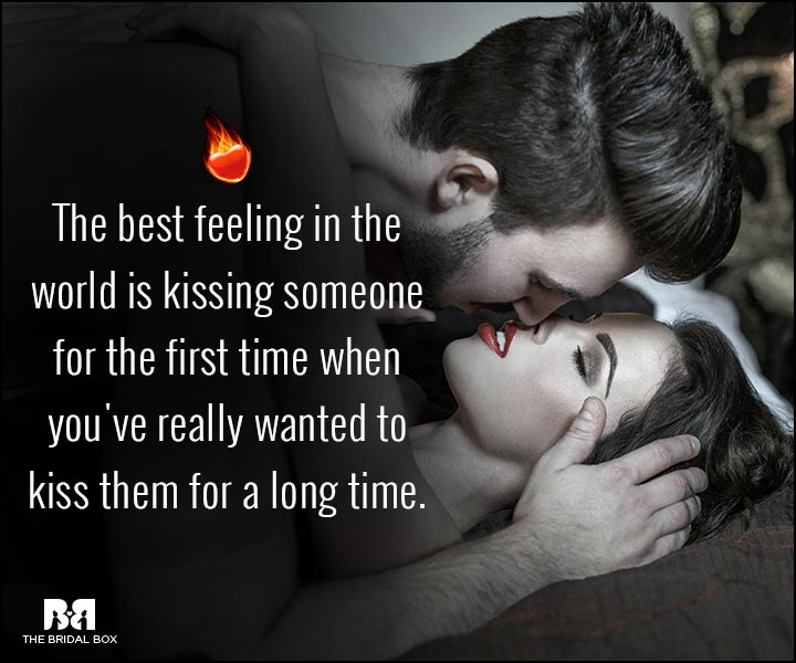 Sexy Love Quotes - The Best Feeling