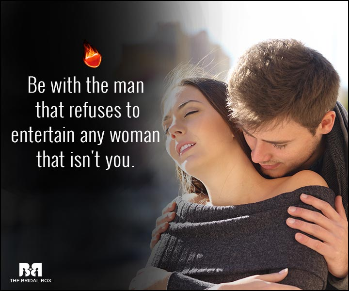 Sexy Love Quotes - Any Woman Who Isn't You