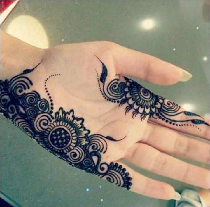Mehndi Hand Patterns Ks : Khaleeji mehndi designs awesome that are trending