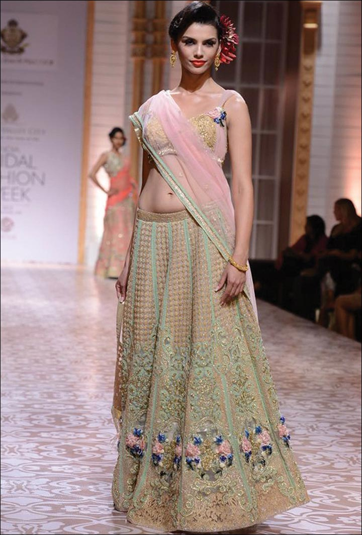 Ghagra Choli For Wedding - Subtle And Demure