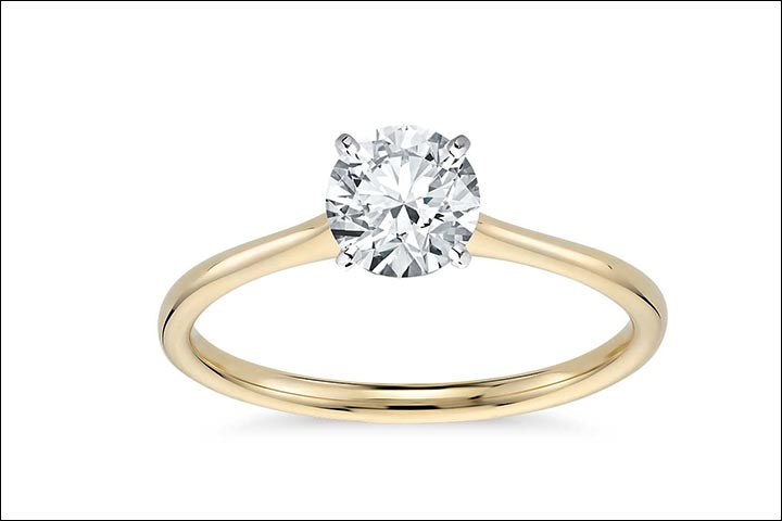 Yellow Gold Engagement Rings - The Classic