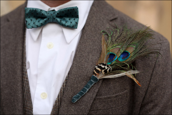 Peacock Themed Wedding - The Modern Groom