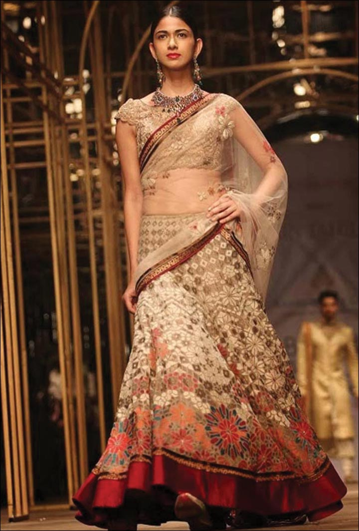 Ghagra Choli For Wedding - The Non-Glitter Option