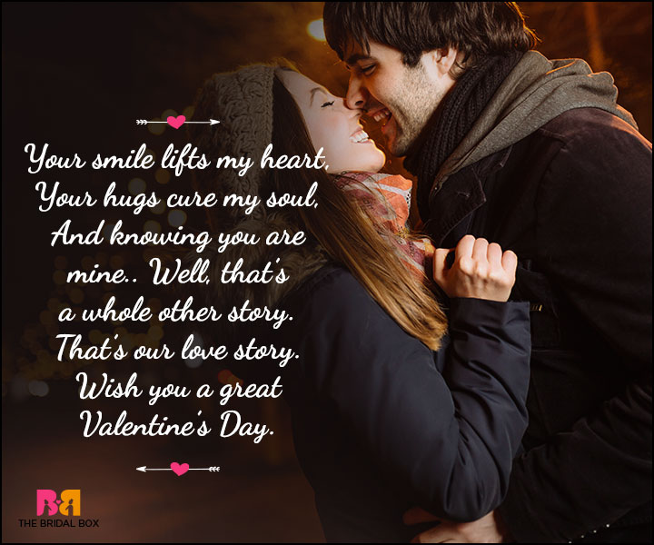 Valentine Day Wishes - A Whole Other Story
