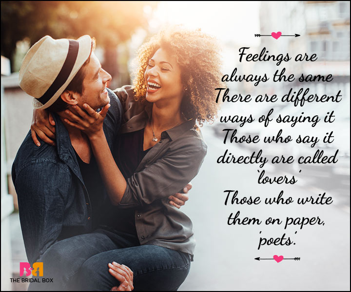 Valentine Day Wishes - Lovers And Poets