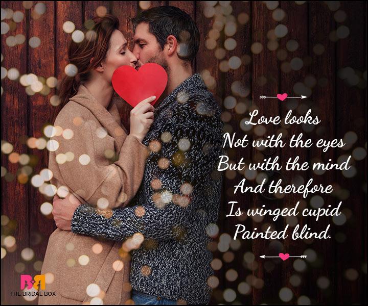 Valentine Day Wishes - Love Is Blind