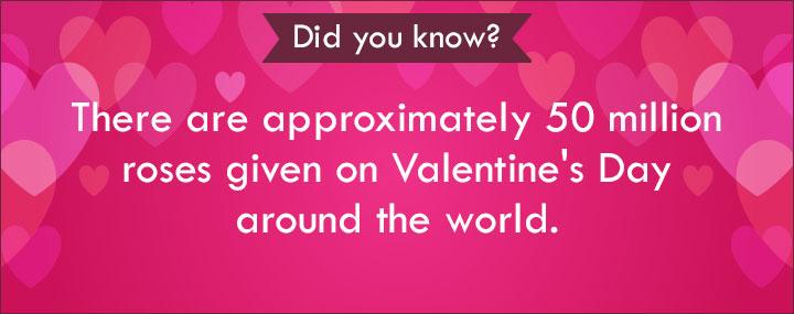 Valentine Love Poems - 50 Million Roses