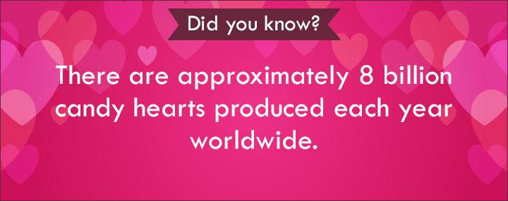 Valentine Love Poems - 8 Billion Candy Hearts
