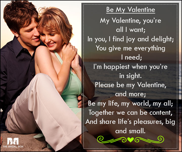 Valentine Love Poems - I'm Happiest When I See You
