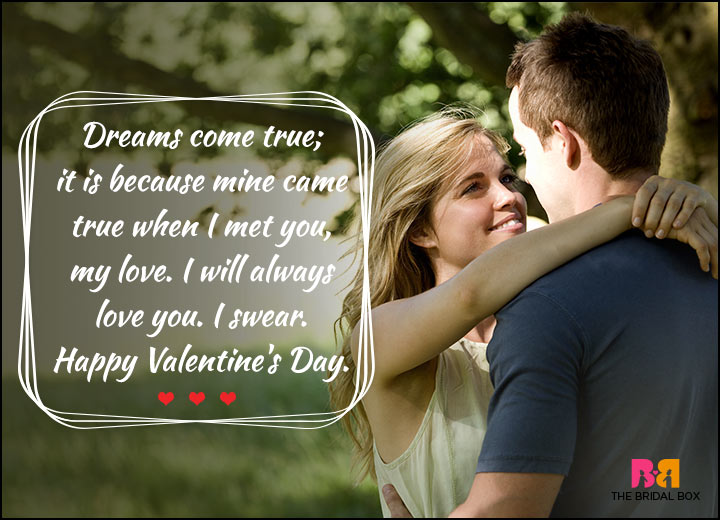 Valentines Day Quotes For Him - When I Met You