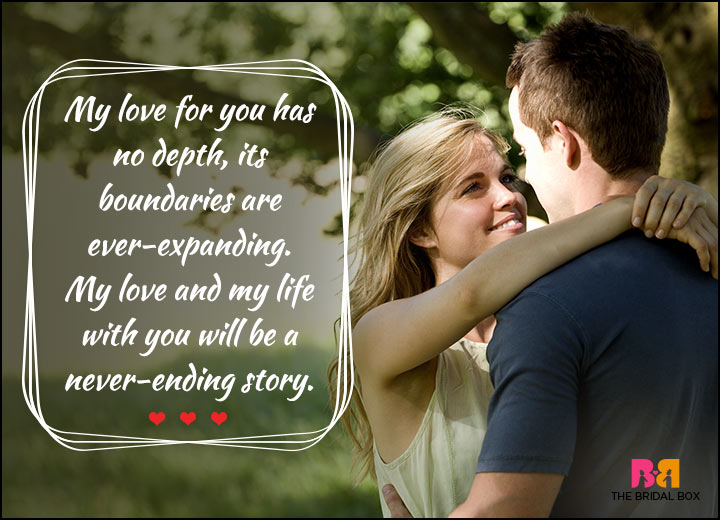 Valentines Day Quotes For Him - A Never-Ending Story