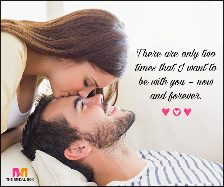 Valentines Day Quotes For Him - Now And Forever
