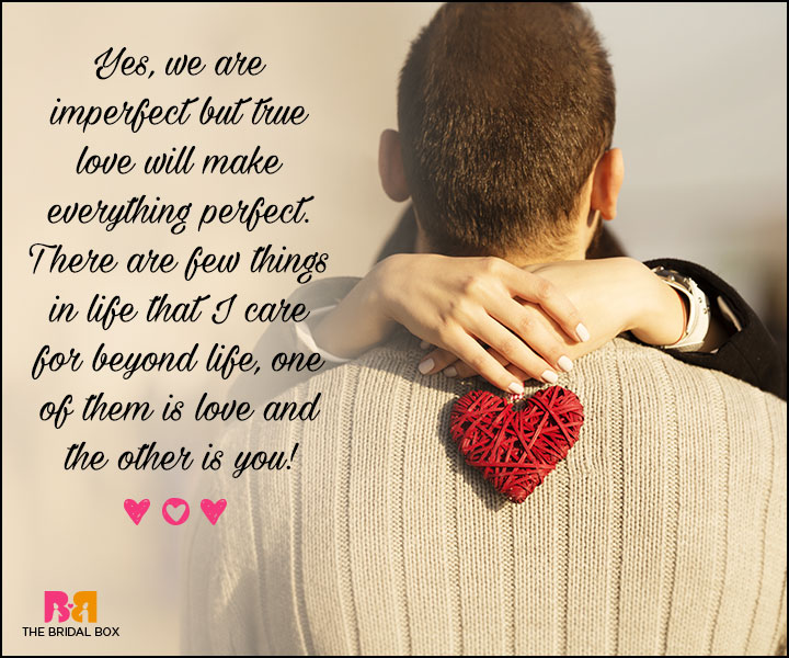 Valentines Day Quotes For Him - We Are Imperfect