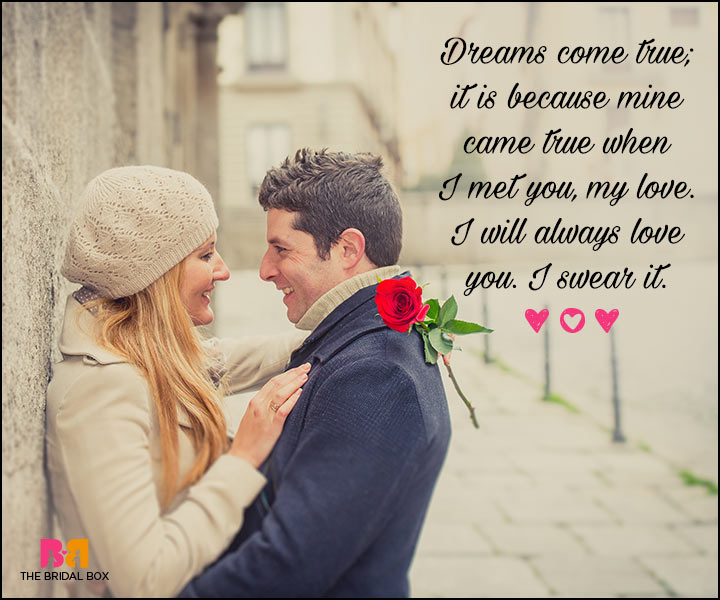 Valentines Day Quotes For Him - Dreams Come True