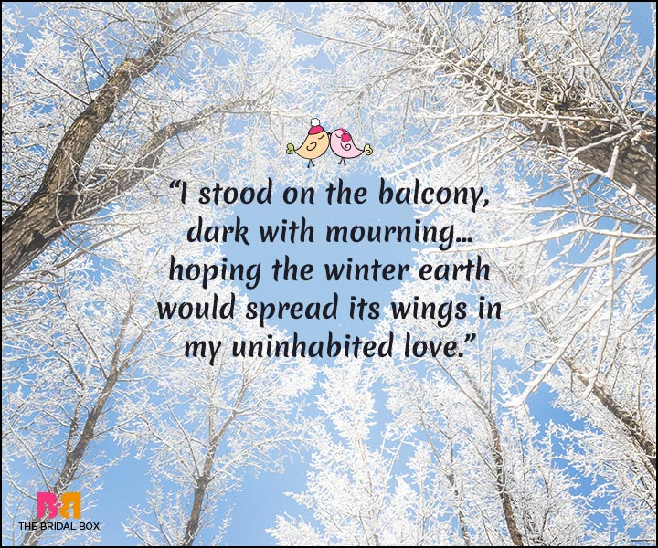 Winter Love Quotes: 15 Quotes That Best Express A Lover's